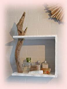 mensola in legno mensola da muro con legno di mare per la casa e per te