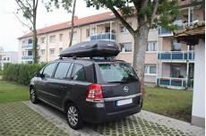 Dachbox Mit Dachtr 228 Ger F 252 R Opel Zafira G 252 Nstig Mieten