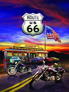 Harley Davidson Puzzles 1000 Pieces by Harley Davidson Puzzle Route 66 Diner 1000 Jigsaw 20