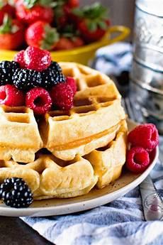 thick fluffy homemade waffles s eats treats