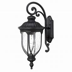 acclaim lighting laurens collection 1 light matte black outdoor wall light fixture 2212bk