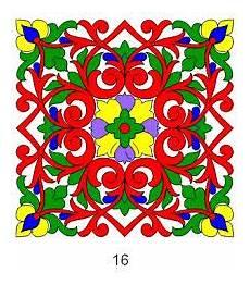 Keren Gambar Hiasan Dekoratif Tumbuhan Bunga Hias