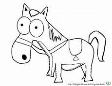 Lustige Pferde Ausmalbilder Pferde Bilder Zum Nachmalen