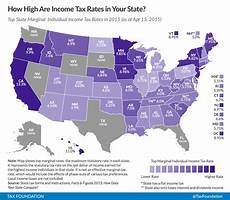 Missouri State Tax Chart 2015 State Individual Income Tax Rates And Brackets For 2015