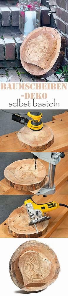Basteln Mit Baumscheiben Holz Holz Baumscheiben Und