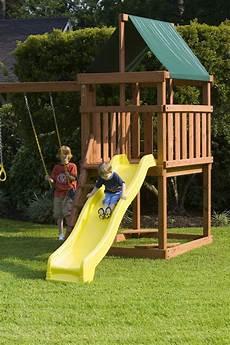 Kinderspielplatz Selber Bauen - how to build diy wood fort and swing set plans from s