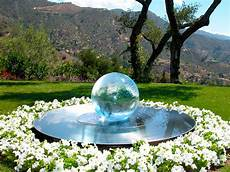 sphere fountains water features for your garden