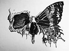Skull Butterfly Beautifully Incorporated Design