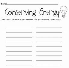 conserving energy worksheet by kids and coffee tpt