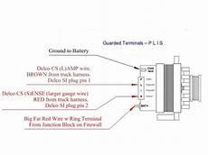 Ford Alternator Wiring Diagram Regulator