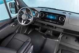 2020 Mercedes Benz Sprinter Passenger Van Interior Photos
