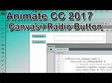 animatecc 2017 radio button html5 youtube