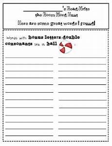 bonus letter worksheets 23982 words with bonus letters erica s ed ventures