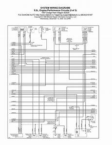 1997 dodge ram wagon b3500 system wiring diagram 5 2l engine performance circuits schematic