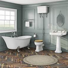 camberley high level oak suite with elegant elsie bath