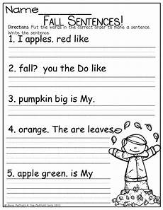 writing simple sentences worksheets 1st grade 22232 8 best images of kindergarten sentence worksheets sentence worksheets asking and telling