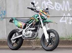 Modifikasi Motor Cross by Modifikasi Motor Cross Kawasaki Klx150 Motor Modification