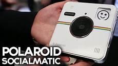 polaroid socialmatic instagram polaroid socialmatic connected instagram ces