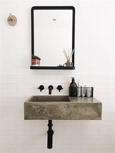 polished concrete bathroom sink bathroom inspo in 2019
