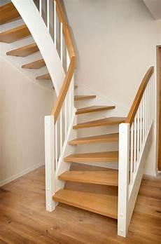 treppe holz weiß wangentreppe bp treppenbau diy step living rooms
