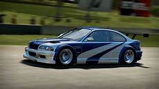 bmw m3 gtr nfs shift 2 unleashed hd bmw m3 gtr e46 most wanted