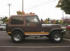 OLD PARKED CARS 1982 Jeep CJ 7