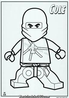 ausmalbilder ninjago lego cole 01 basteln mit