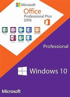 Windows 10 Pro Et Office 2016 Pro Plus 224 Petits Prix Pour