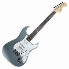 squier stratocaster by fender squier by fender affinity stratocaster hss slick silver at gear4music