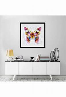 paintings for home decor colorful butterfly painted modern home decor wall