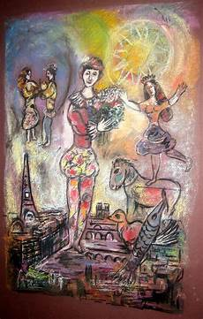 Marc Chagall Werke - the illuminated showman marc chagall and the circus