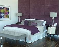 Purple Grey Bedroom Home Design Ideas Pictures Remodel