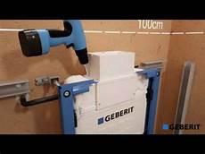 montage toilette suspendu bati support duofix plus hauteur reduite wc suspendu