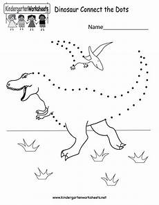 connect the dots worksheets kindergarten free printable dinosaur connect the dots for kindergarten