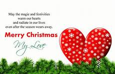 cute merry christmas love quotes special messages images