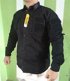 jual kemeja tactical drone bdu hitam airsoft di lapak baju