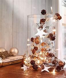 Weihnachtliche Glanzlichter Lichterkette Wir