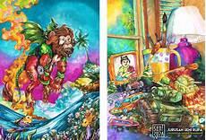 Imajinasi Gambar Anak Sebagai Inspirasi Ilustrasi Seni