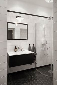 Black And White Subway Tile Bathroom Ideas by 79 Gorgeous Black And White Subway Tiles Bathroom Design
