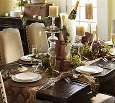 Brown Decorations by Table Brown Gold Green