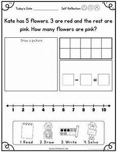 word problem worksheets kindergarten 11061 kindergarten word problems by simply creative teaching tpt