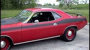 1974 CUDA 440 With 5 Speed Pistol Grip American Muscle