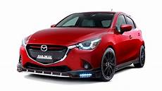 2016 Aggressive Looking Mazda 2 Demio In Damd Kit