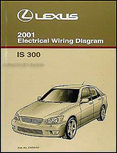 free service manuals online 2001 lexus gs electronic valve timing 2001 lexus is 300 wiring diagram manual original is300 electrical schematic book ebay
