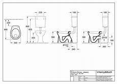 stand wc mit spülkasten abgang waagerecht villeroy boch o novo flachsp 252 lklosett stand wc abgang