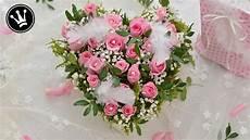 Diy Valentinstag Geschenk I Rosenherz Aus Einer