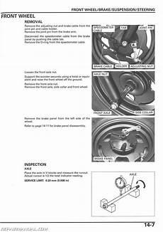 2003 2016 honda nps50 ruckus scooter service manual