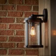 barrington 13 quot 1 light wall light distressed black kichler lighting