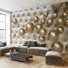 3d wallpaper modern abstract mural golden soft