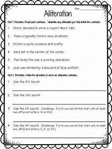 poem worksheet for grade 5 25418 alliteration anchor chart plus freebie alliteration alliteration anchor chart figurative